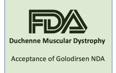 FDA Accepts Golodirsen NDA for Duchenne Muscular Dystrophy Patients Amenable to Skipping Exon 53