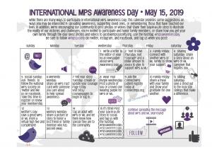 MPS Awareness Day • May 15, 2019