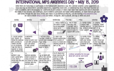 May is MPS Awareness Month