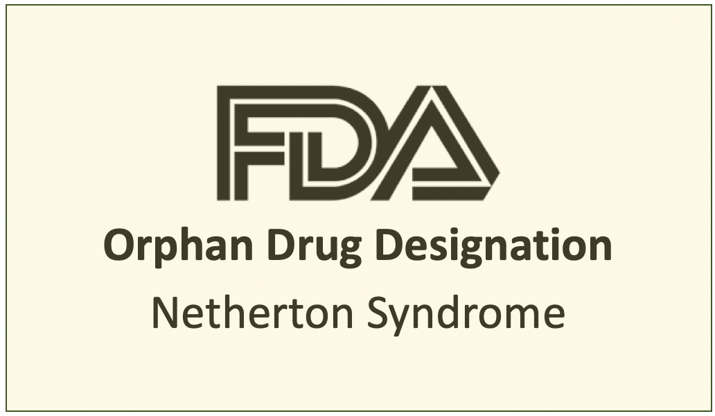 The FDA Grants Orphan Drug Designation LM-030 For Netherton Syndrome