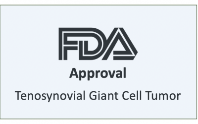 FDA Approves Therapy for Symptomatic Tenosynovial Giant Cell Tumor