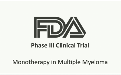 Ixazomib Monotherapy in Multiple Myeloma Phase III Study Meets Primary Endpoint