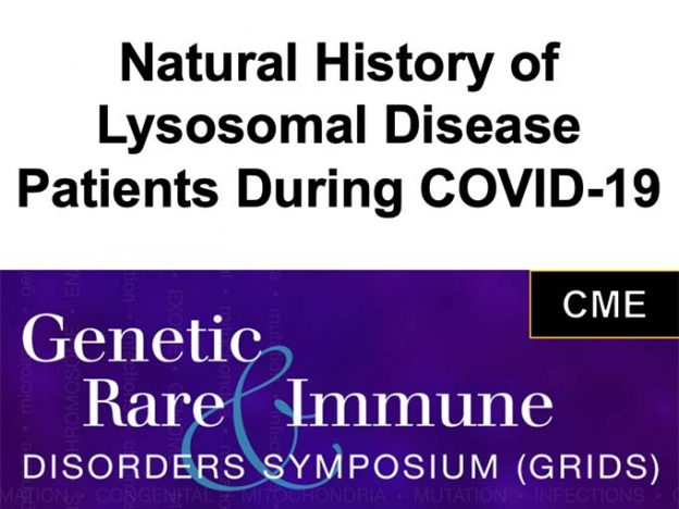 Natural History of Lysosomal Disease Patients During COVID-19 course image
